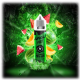 Jungle Hit Watermelon Melon aroma 10ml v 120ml stek.
