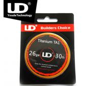 YOUDE  Titanova TA1 grelna žica  0,4mm 26GA 30ft