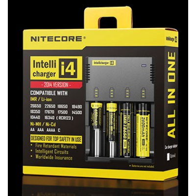NITECORE i4 Intellicharger baterijski polnilec