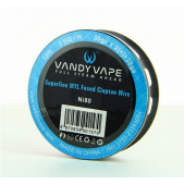 Vandy Vape uporovna žica superfine MTL Fused Clapton Ni80 30GAx2+38 10ft